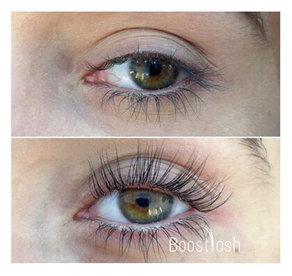 Applying Boostlash Step 1